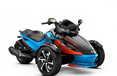 Riding Can Am Spyder RSS