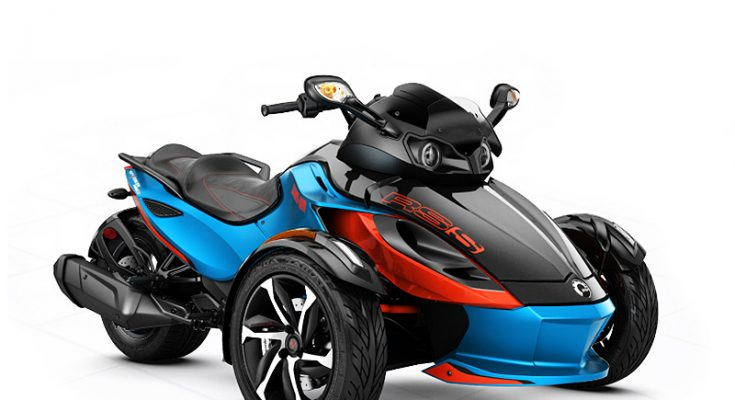 Riding Can Am Spyder RSS